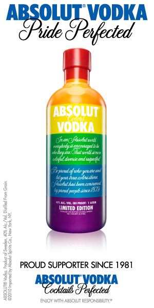 Absolute Vodka. Pride Perfected.