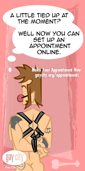 Make your Gay City testing appointment online!